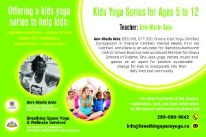 4x6 yoga postcard